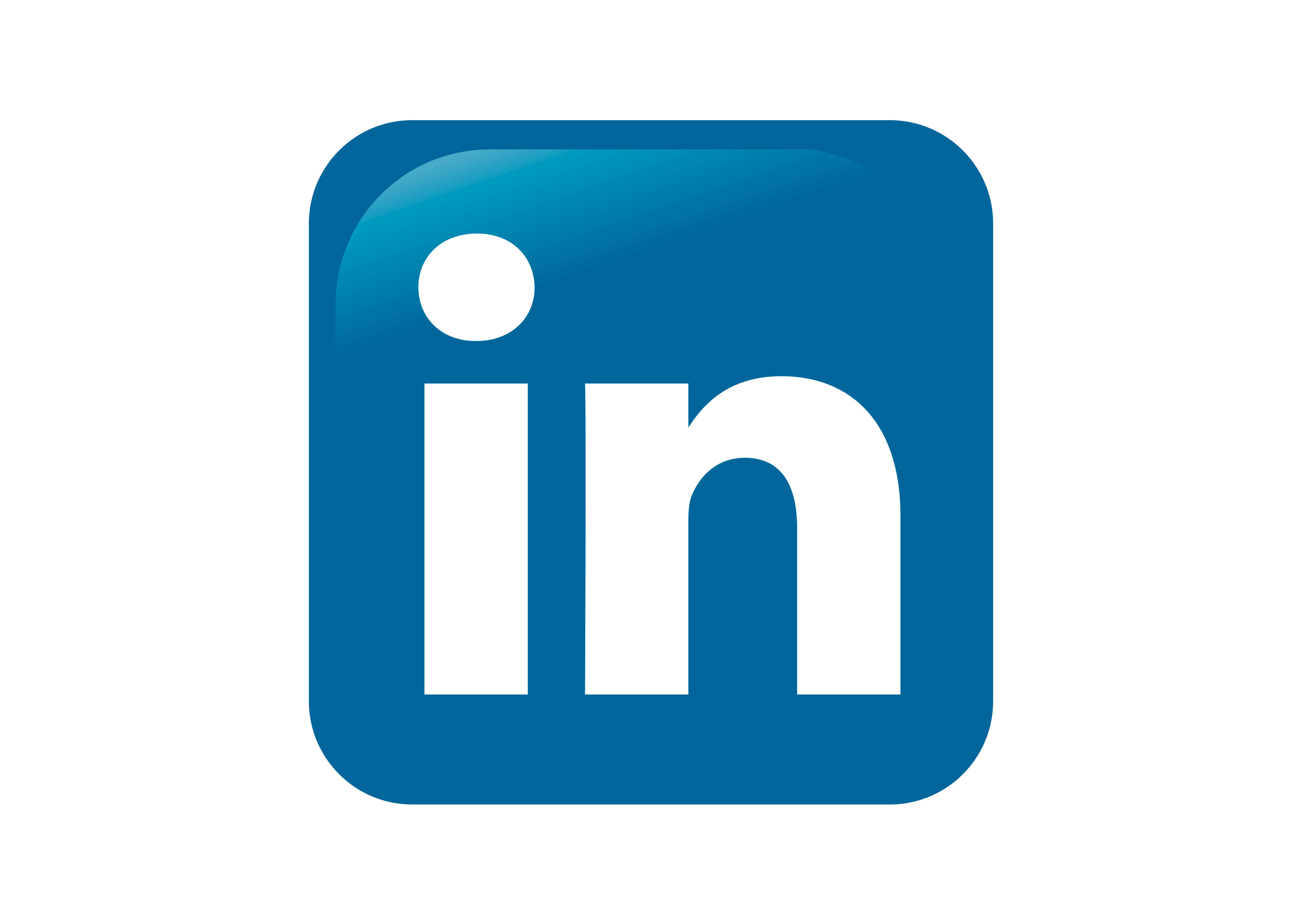 linkedin symbol transparent